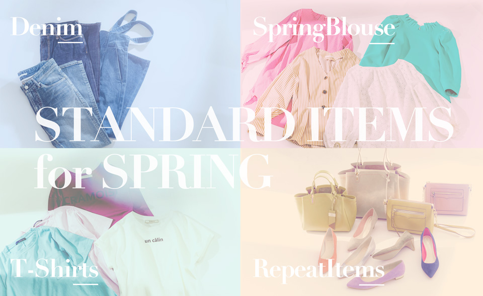 Standard items for Spring