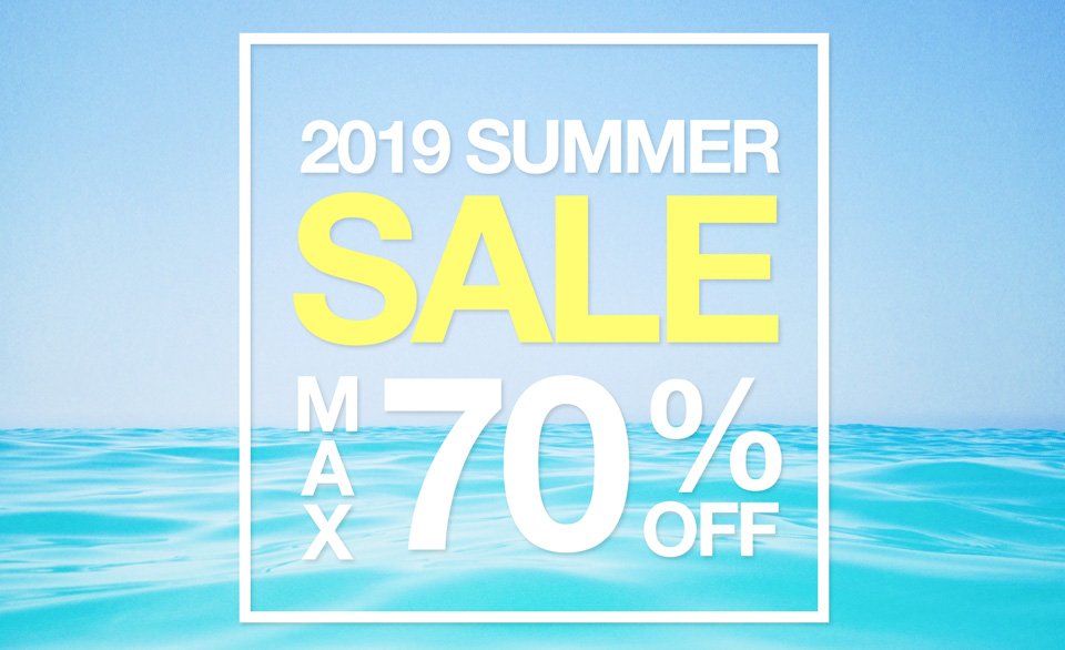 MAX70%OFF!!2019 SUMMER SALE