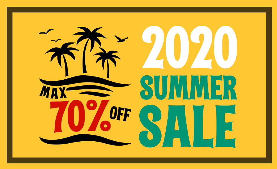 MAX70%OFF!!2020 SUMMER SALE