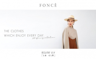 FONCE -THE CLOTHES WHICH ENJOY EVERY DAY.-