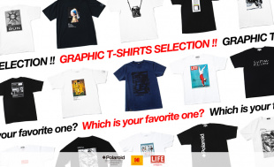 GRAPHIC T-SHIRTS SELECTION