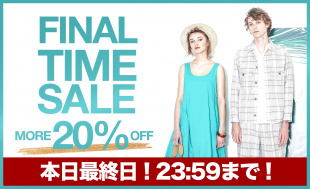 FINAL TIME SALE