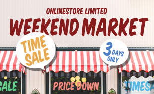 ONLINE STOREの \WEEKEND MARKET開催/レディス