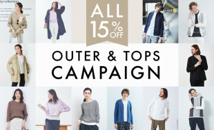 【MAX15%OFF】OUTER & TOPS CAMPAIGN レディス