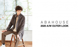 ABAHOUSE 2020AW OUTER LOOK