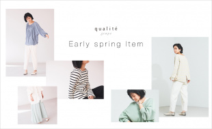 【qualite scape】Early spring item