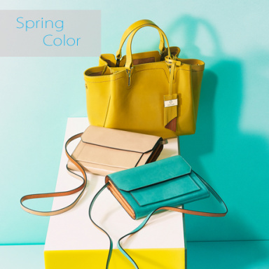 SPRING COLOR -Bag collection-