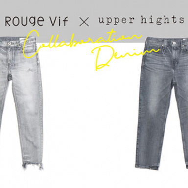 Rouge vif × upper hights 別注デニム