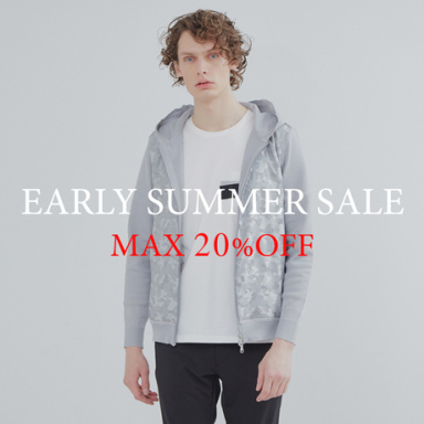 【MAX20%OFF】期間限定 EARLY SUMMER SALE 絶賛開催中