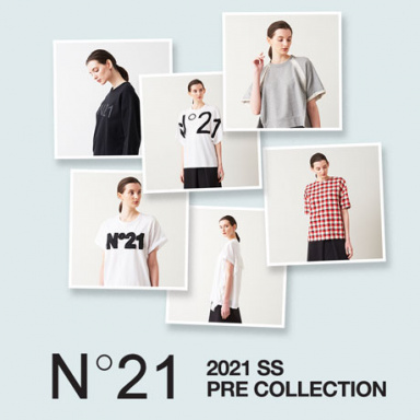 N°21(ヌメロヴェントゥーノ)2021SS PRE COLLECTION