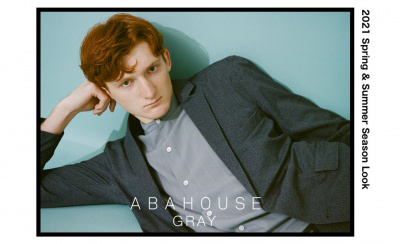 ABAHOUSE GRAY 2021 Spring & Summer Season Look
