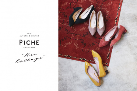 "PICHE ABAHOUSE 2019 AUTUMN&WINTER ""Her Collage"""