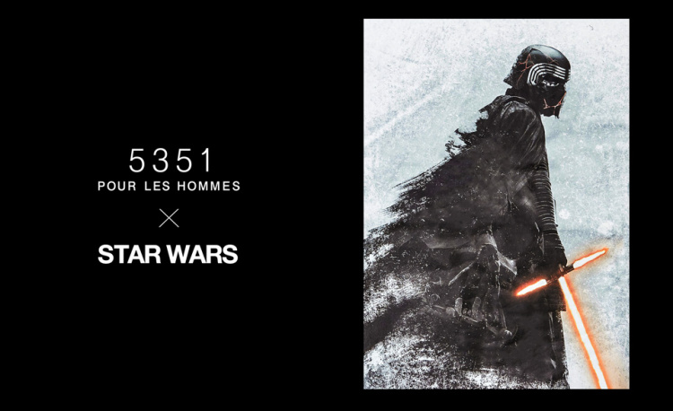 5351POUR LES HOMMES×STARWARSコラボが決定!